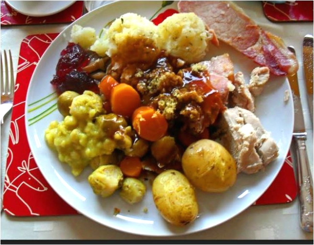 Irish Christmas dinner