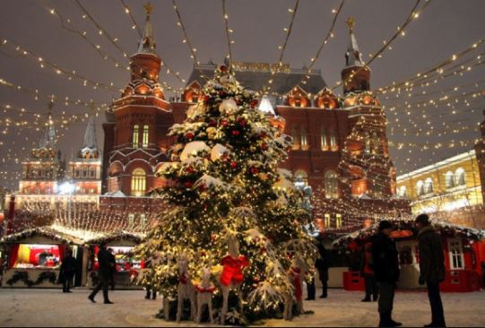 Russian Christmas Moscow