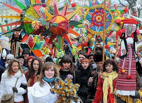 Ukraine carols