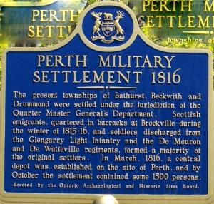 Perth Military Settlement