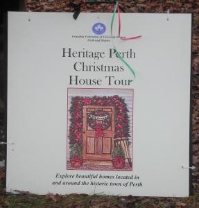 Christmas House Tour sign0001