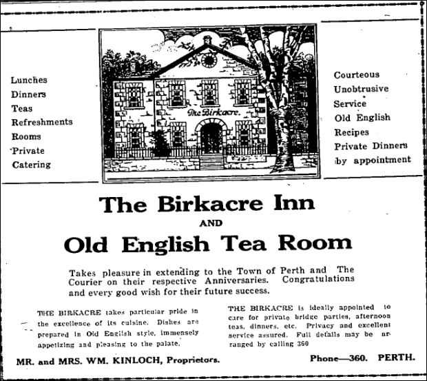 Birkacre Inn Aug 3 1934 p 28