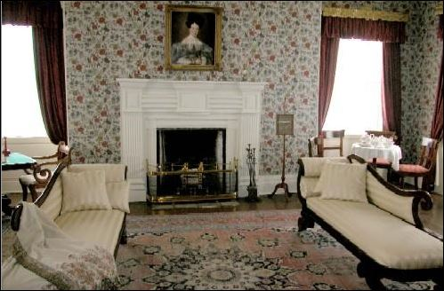 Matheson House drawing room