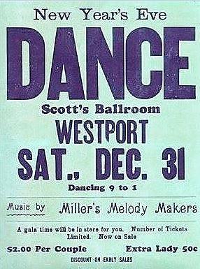 Scott's ballroom poster