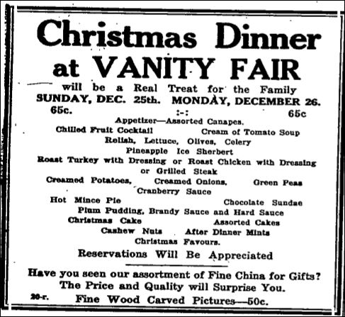 Vanity Fair Christmas Dec 23 1938 p 2