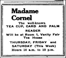 Vanity Fair Nov 11 1938 p 10 Mme Cornel