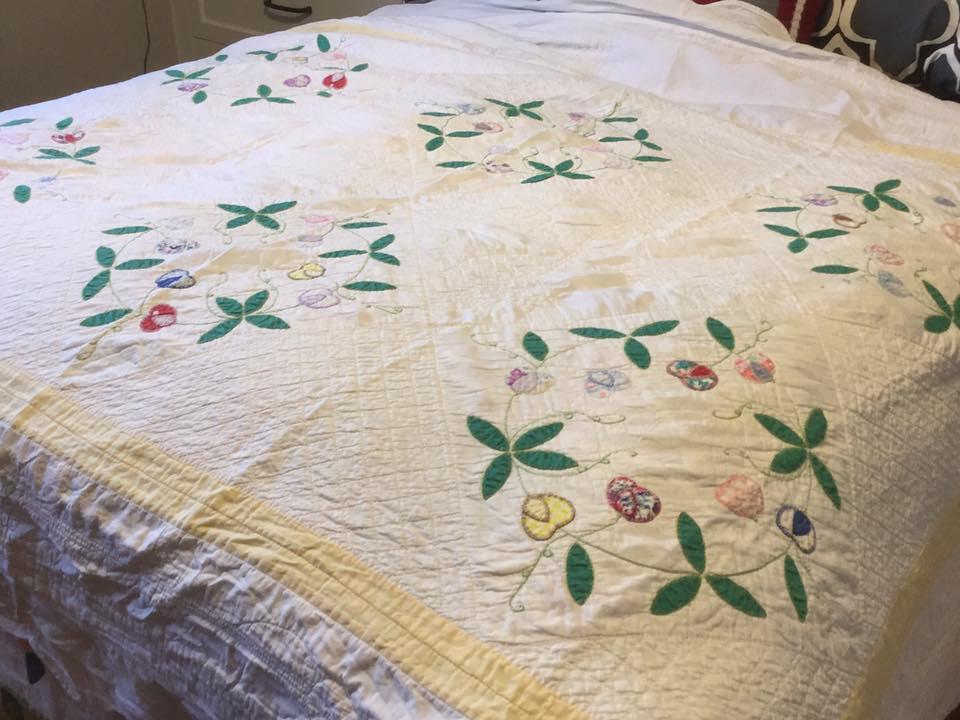 Eleanor Conboy's quilt # 4