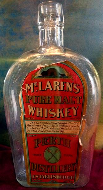 McLaren whiskey bottles 1