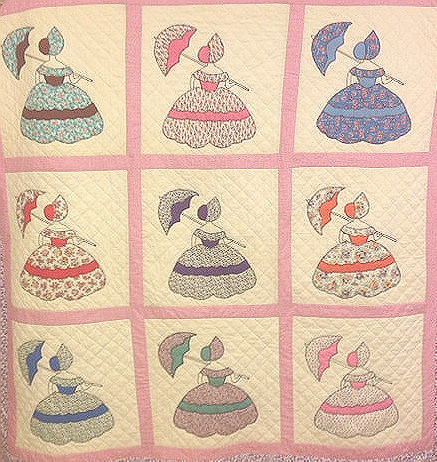 umbrella ladies quilt