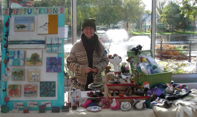Book Fair farmer's market Fifi Fu Designs0001