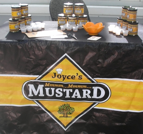 Book Fair farmer's market Mustard0001