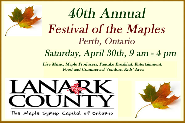 Festival of the Maples Poster for article