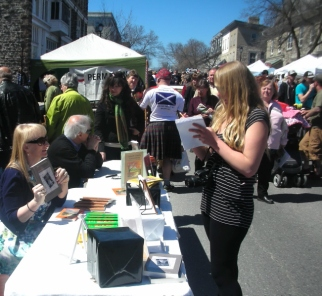Local reporter and Arlene Maple Fest 20160001