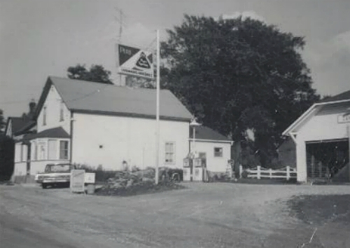 Cavanagh's store black and white