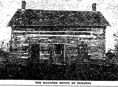 haunted house of Burgess