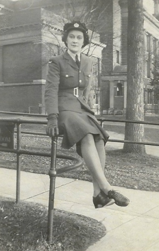audry-in-uniform