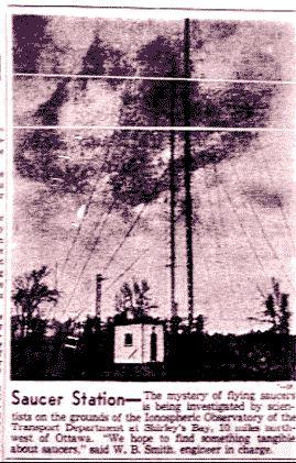 saucer station 1953