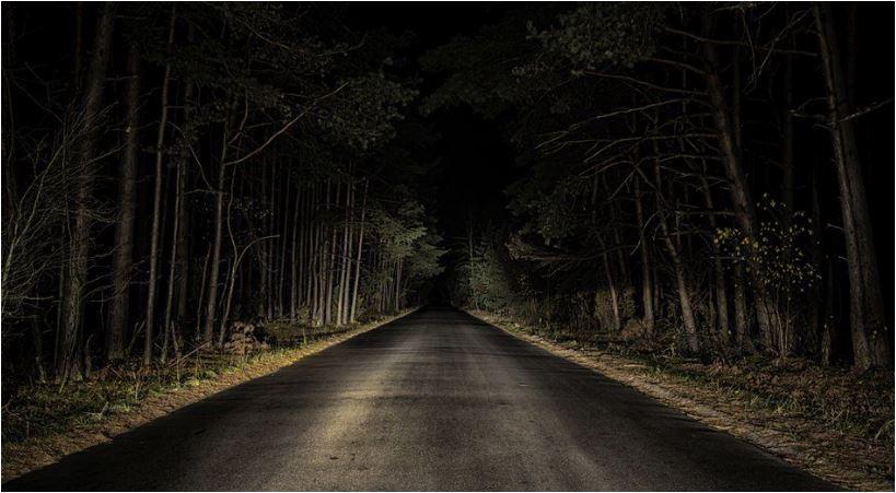 dark country roads