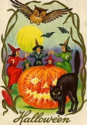 Hallowe'en card