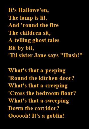 Hallowe'en song