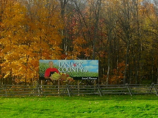lanark-county-sign