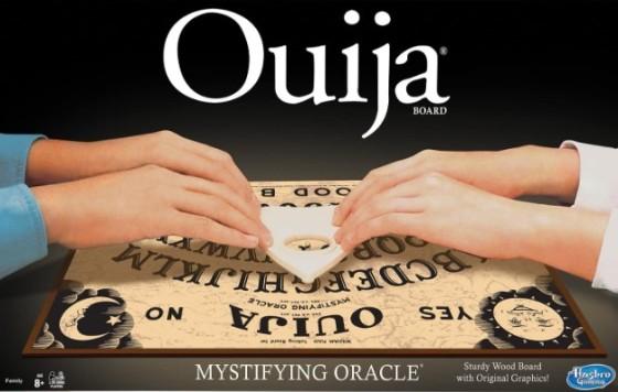 Ouija game board