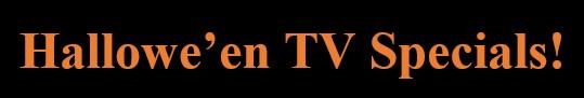 TV specials