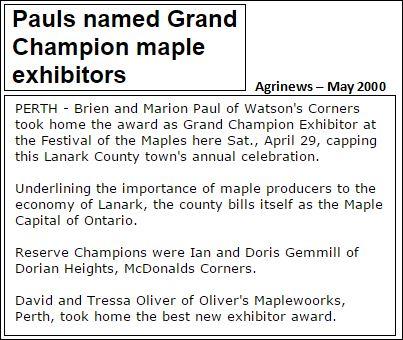 Paul's maple