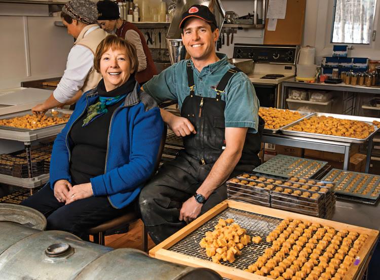Shirley Deugo and Scott Deugo of Fulton's