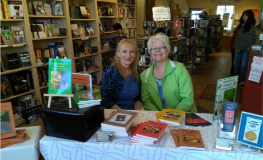 Arlene and Shirley Book Nook 10th