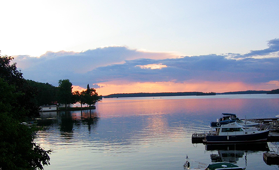 Lake Life sunset