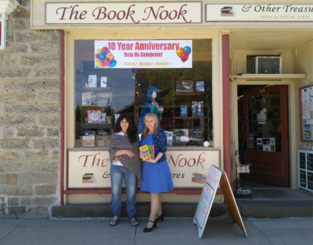 Leslie and Arlene Book Nook 10th