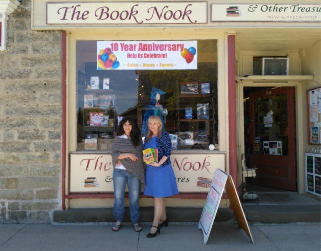 Leslie and Arlene Book Nook 10th