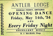 Antler Lodge opening night