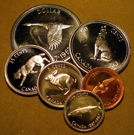 SILVER FIVE CENTS