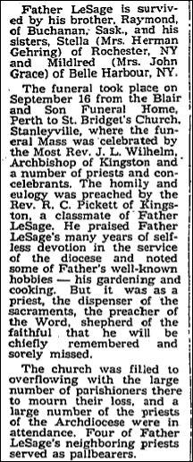 Nov 4 1976 p 14 Fr. LeSage part 2