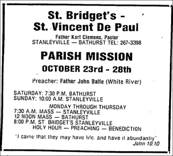 October 20 1982 Guest Speaker display ad