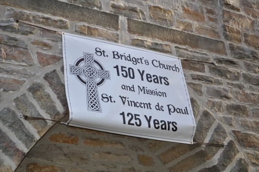St. Bridget's sign