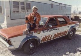 Hell Driver clown