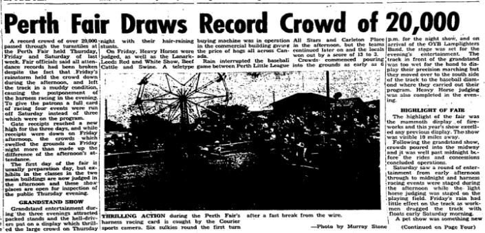 Perth Fair 1963