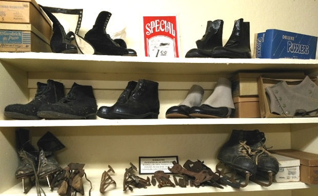 NLRM Shoe display