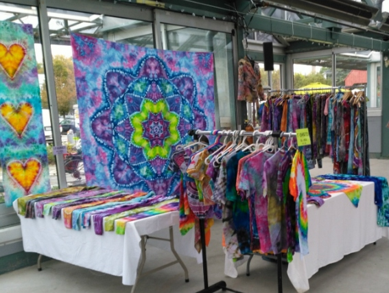 Tie Dye at Crystal Palace