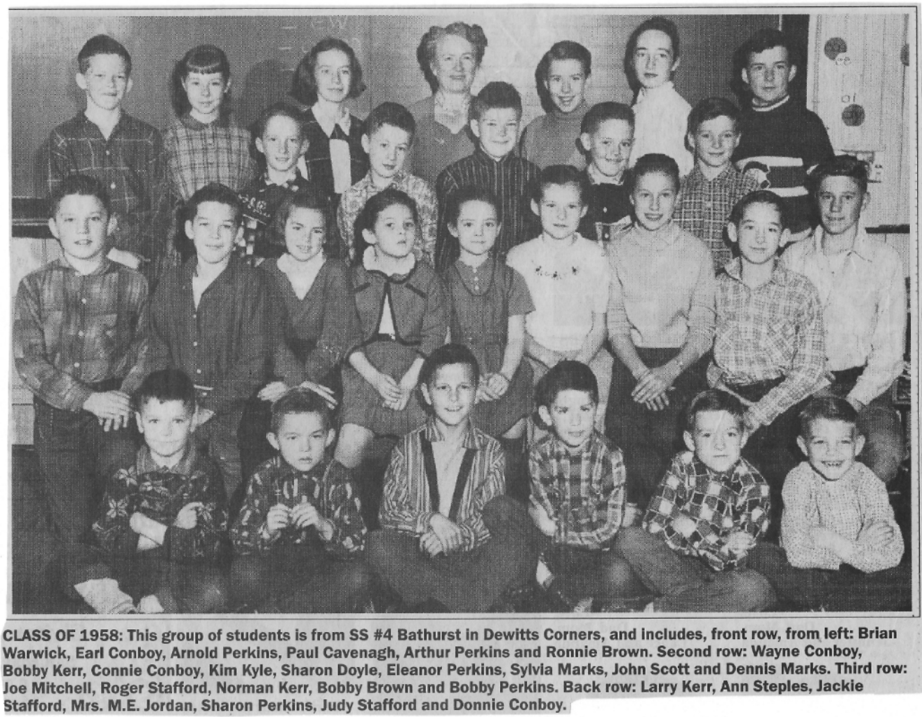 DeWitt's School photo