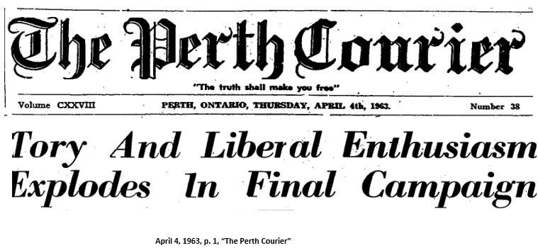 Election banner 1963