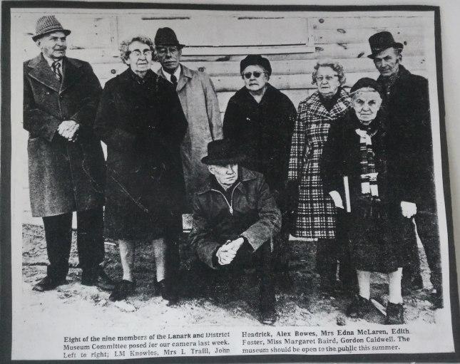 Key players Lanark Museum