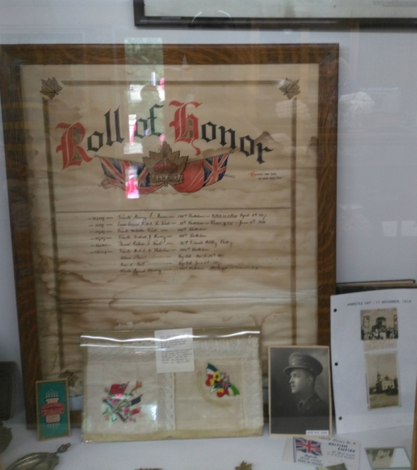 Roll of Honour case