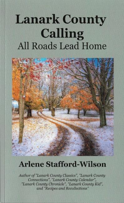 Lanark County Calling - book cover Aug
