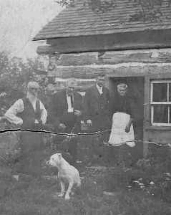 Williston Barnes and friends at cabin