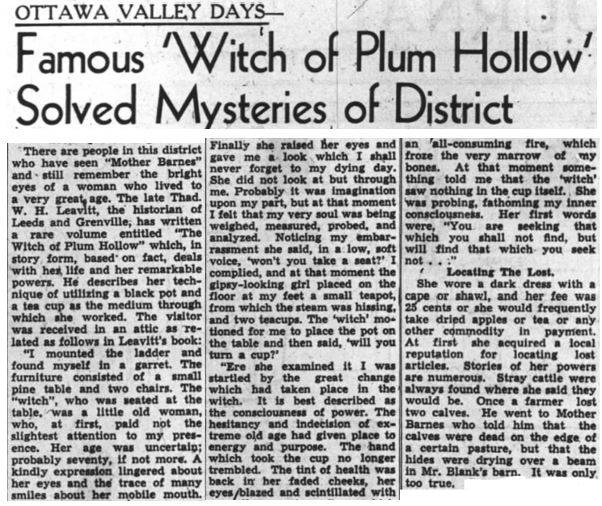 Witch of Plum Hollow # 4