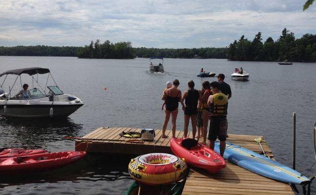 Bev Miller's dock from Carolyn